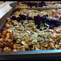 Cranberry Hazelnut Granola