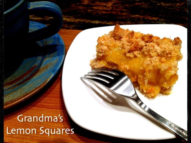 Grandma's Lemon Squares