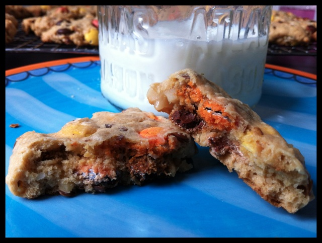 Smarties Cookies | Blue Owl Treats