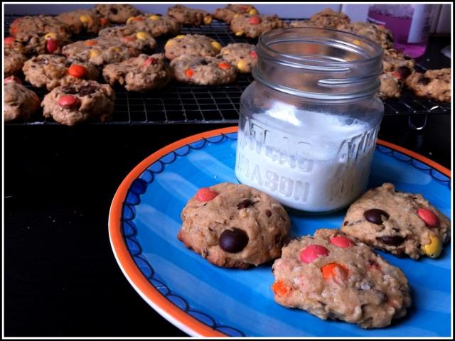 Smarties Cookies | Blue Owl Treats