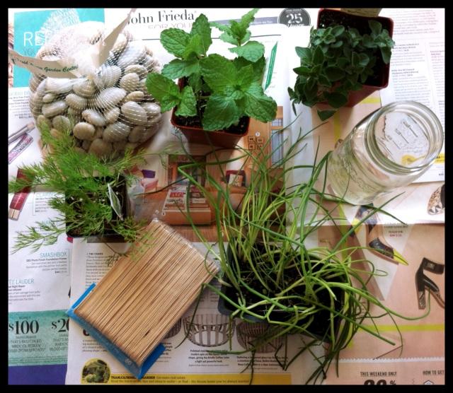 DIY Rustic Herb Box | Blue Owl Treats