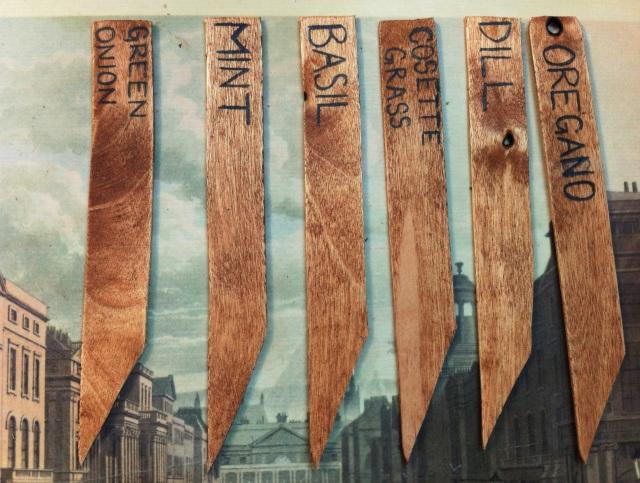 Rustic Herb Box | Blue Owl Treats