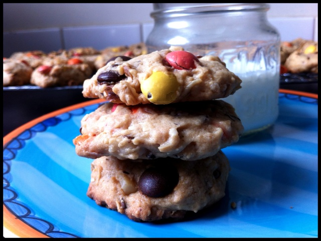 Smartie Cookies | Blue Owl Treats