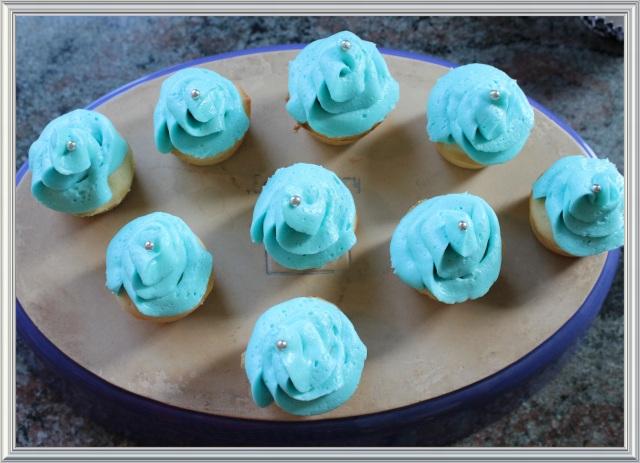 Blue Owl Treats | Rosebud Cupcakes