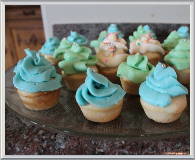 Blue Owl Treats | Rosebud Cupcakes