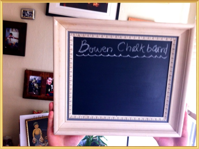 D.I.Y. Chalkboard | Blue Owl Treats