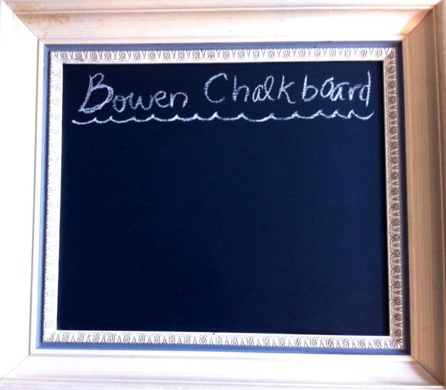 D.I.Y. Chalkboard | Blue Owl Treats