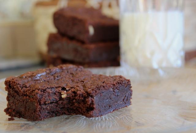 Baileys Brownies | Blue Owl Treats