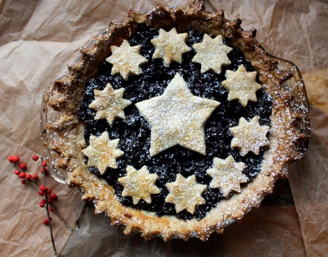 Christmas Mincemeat Pie | Blue Owl Treats