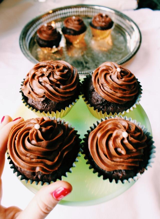 Chocolate Zucchini Cupcakes   Blue Owl Treats