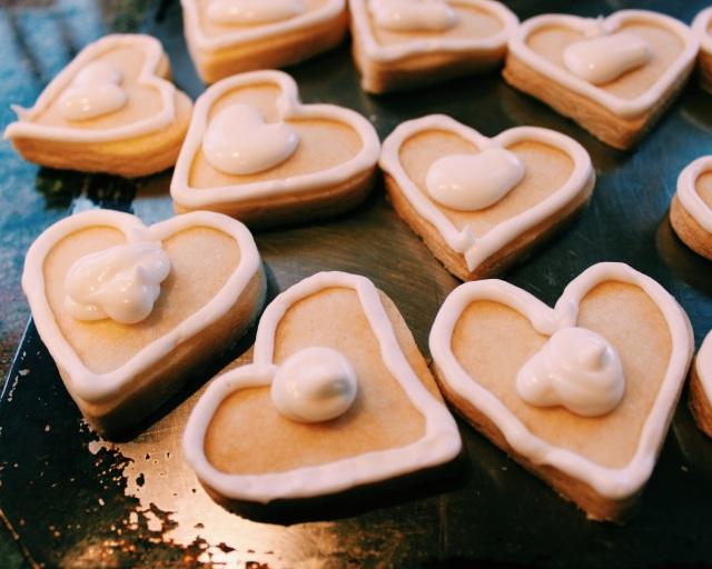 Valentine's Cookies | Blue Owl Treats