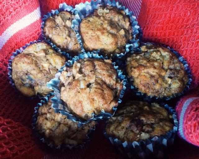 Apple Cheddar Muffins | Blue Owl Treats