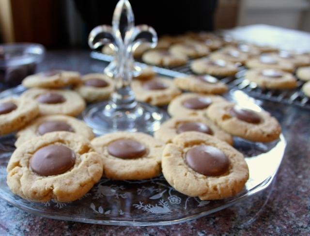Milk Chocolate Peanut Butter Cookies | Blue Owl Treats