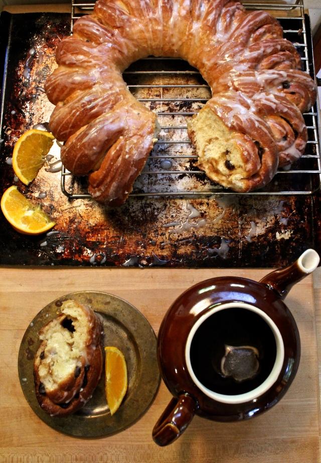 Glazed Swedish Tea Ring | Blue Owl Treats