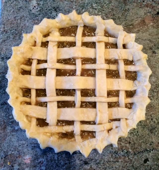 Chardonnay Grape Pie | Blue Owl Treats