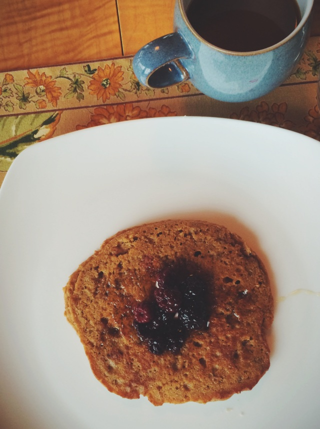 Ginger Molasses Pancakes | Blue Owl Treats